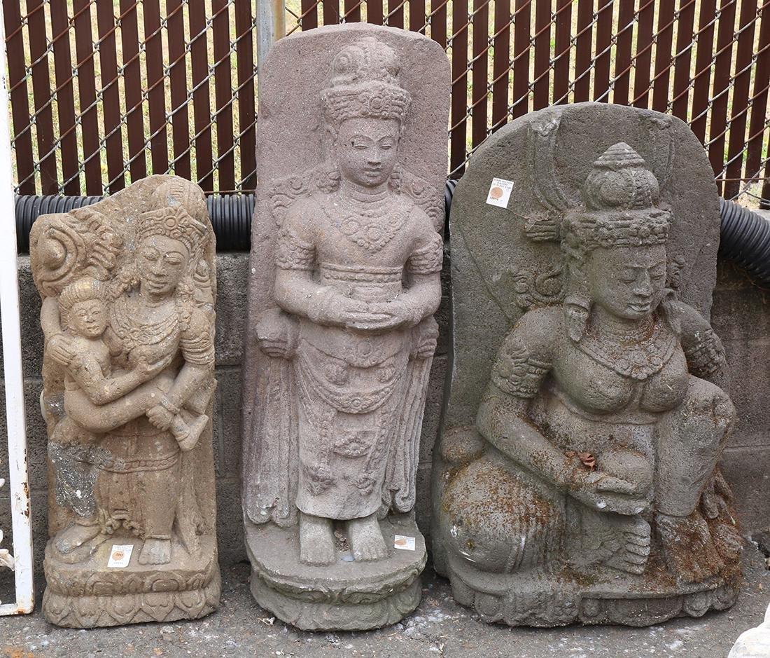 Three Southeast Asian Sculptures
