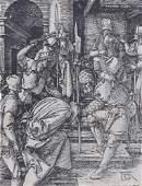 Print, Albrecht Dürer, Christ Before Annas