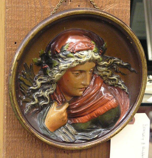 4004: Bradley Hubbard metal plaque 1811