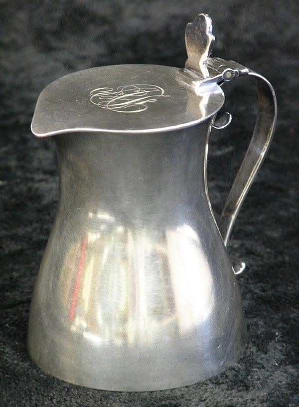 4011: Silverplate Tiffany & Co. creamer