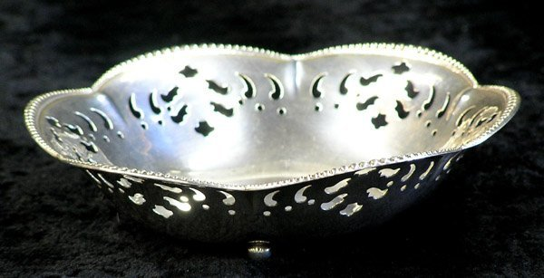4015: Tiffany & Co. sterling silver dish