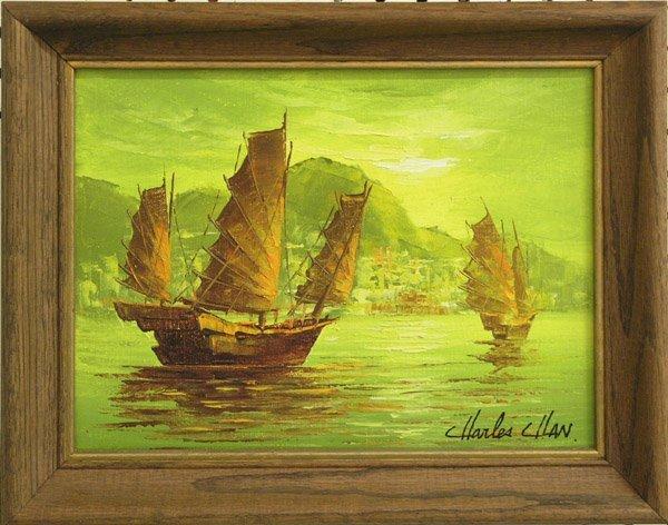4355: Painting Boats Charles Chan