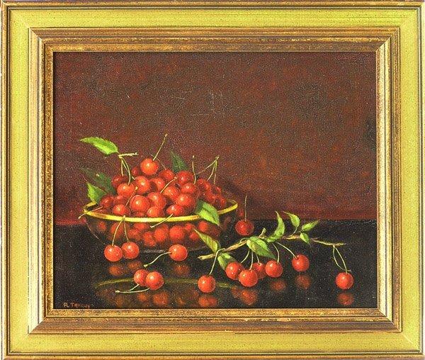 6000: Cherry Richard Tanguy oil still life