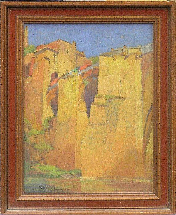 6010: oil Toledo Spain Roger Bailey