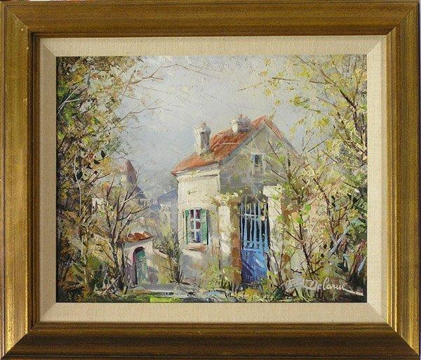 6011: Painting Lucien Delarue Paris