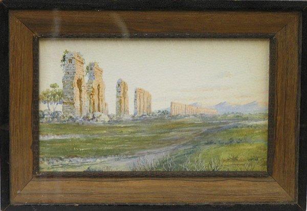 6014: Painting Aqueduct Italian