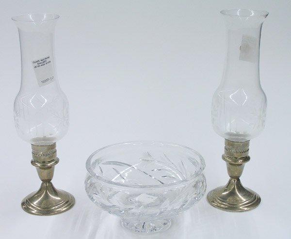 6015: Gorham sterling candleholders