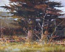 6156: Painting, Martha Borge, Californian
