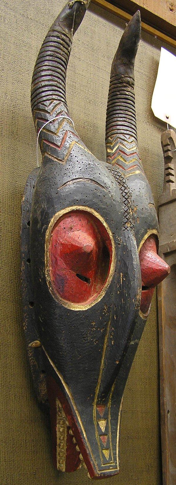 6657: African ritual mask