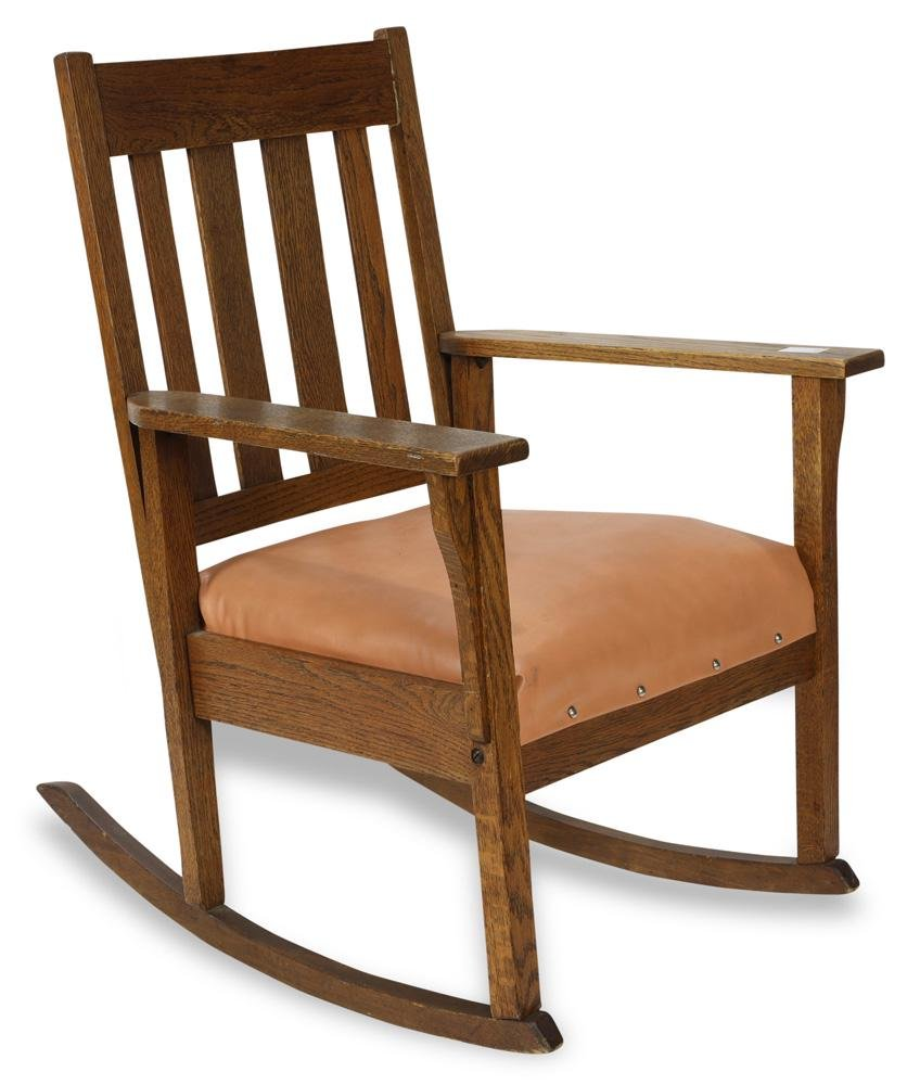 Arts & Crafts Rocking Chair