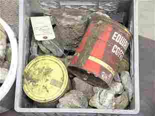 Crystals, Jasper, Abalove shells
