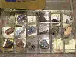 Specimen boxes and jars