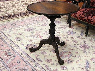 2451: Mahogany Georgian Style Tea Table