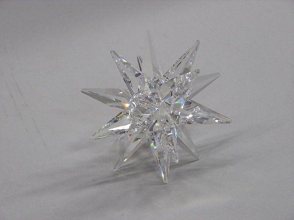 Swarovski crystal star candleholder