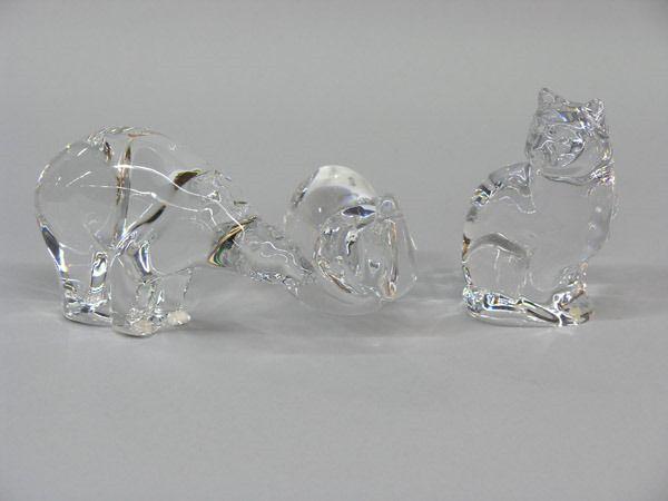 Baccarat & Orrefors crystal