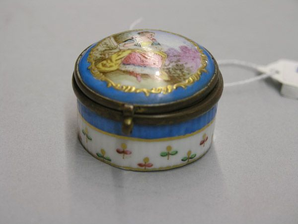 Sevres porcelain and ormolu patchbox