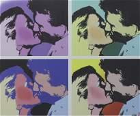 Print, Steve Kaufman, The Kiss