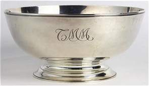 Tiffany  Co sterling silver Revere type bowl