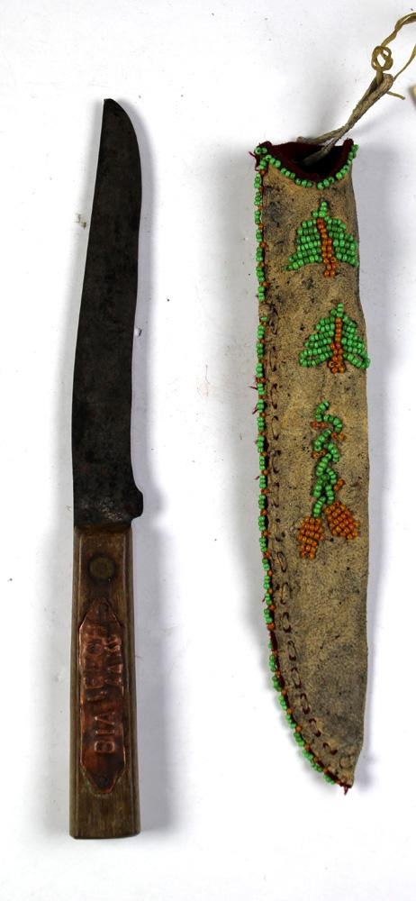 Native American carving knife