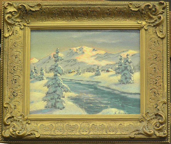 8: Painting Winter Landscape F. Rayner