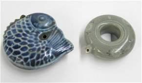 84 Korean Porcelain Water Droppers