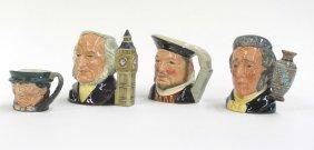 Royal Doulton Toby Character Mugs
