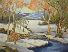 364: Painting Winter Landscape