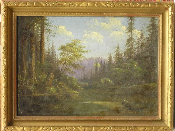 2000: Painting, Californian, Landscape