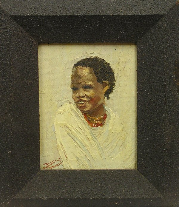 2010: Painting, Turrini, Portrait, Eritrean
