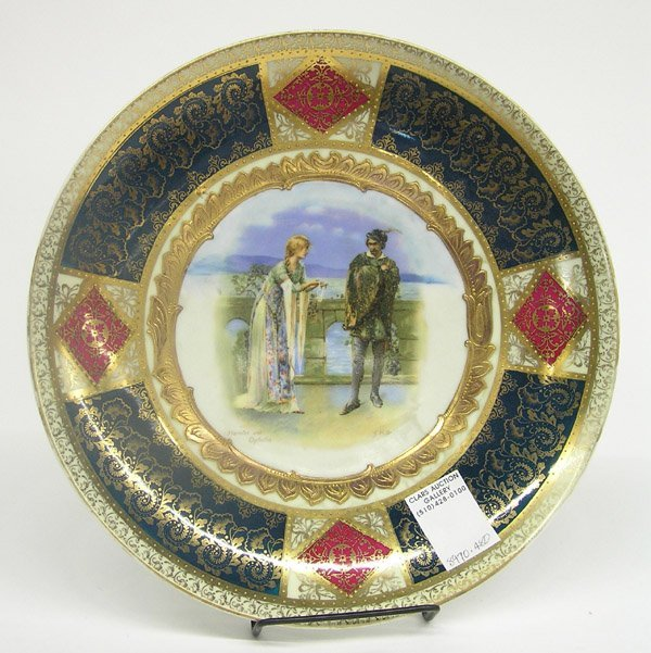 2016: Royal Vienna porcelain plate