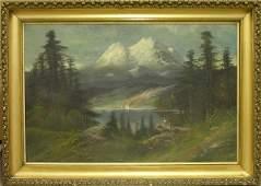 2190 Painting John Englehart Shasta