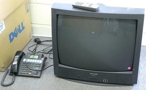 8005: Sharp 25R-S100 2004 26'' television