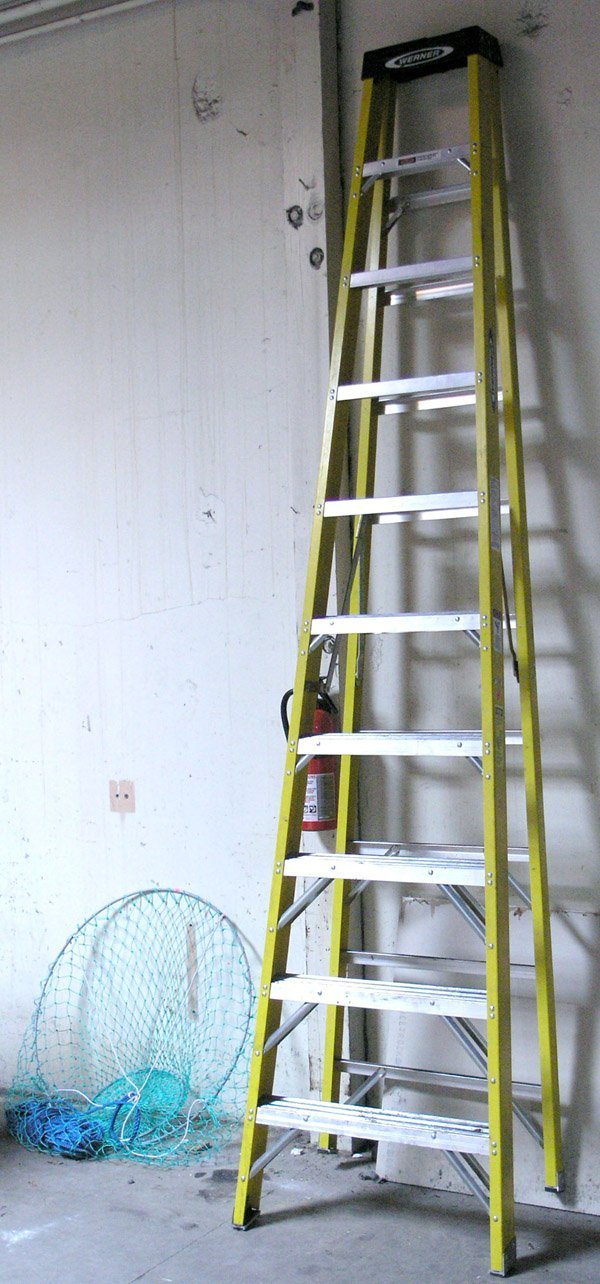 8007: Aluminum ladder crab net