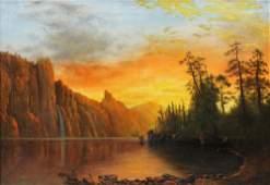 Painting Circle of Albert Bierstadt
