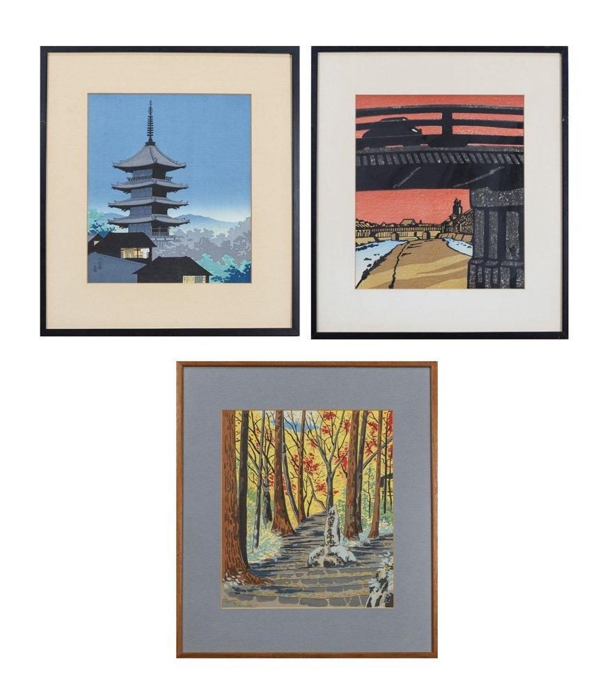 Japanese Modern Woodblock Prints, Tokuriki Tomikichiro