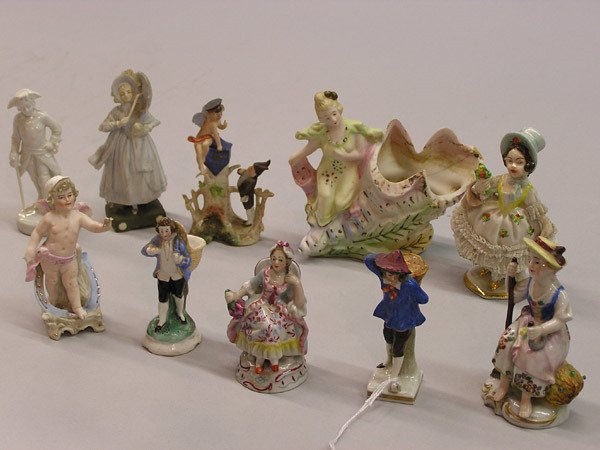 4: German porcelain figurines