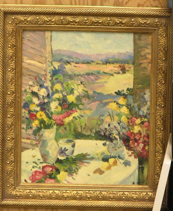 359: Oil painting, B. Ward