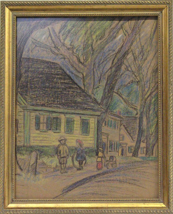 4002: Pastel, Children, Landscape