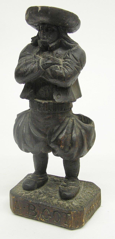 4016: Folk art figural carving man