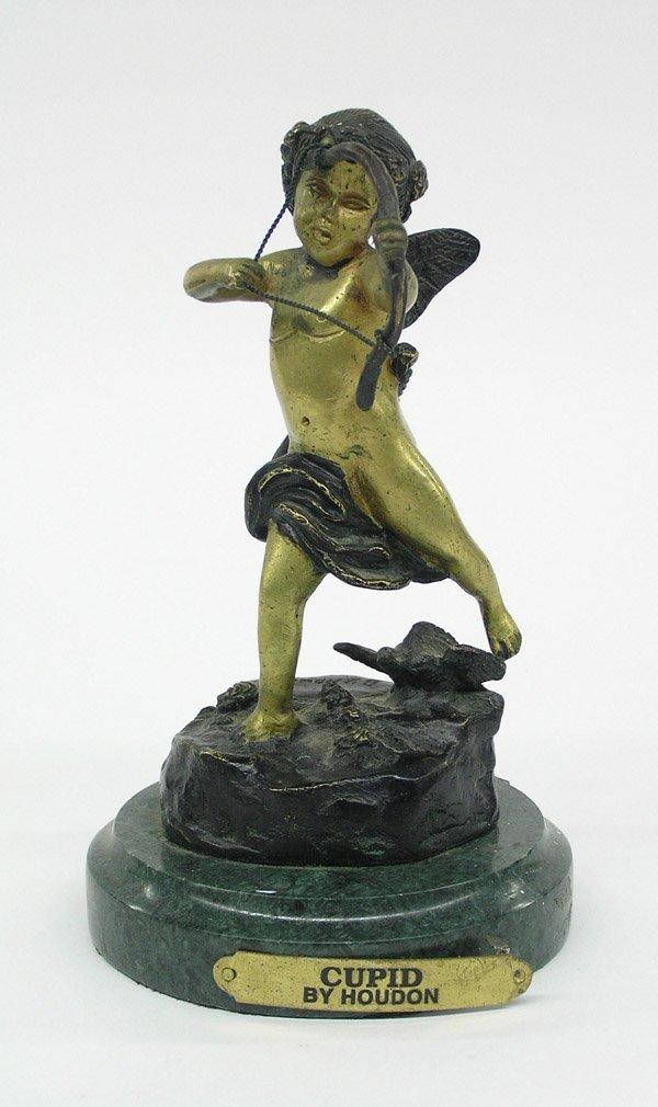 4022: Bronze figure of Cupid after Houdon