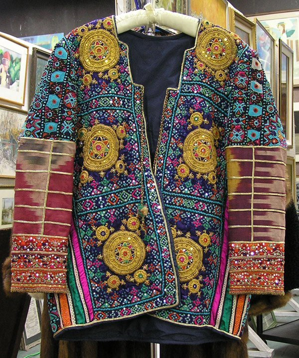 4582: Embroidered sequined Tibetan Jacket