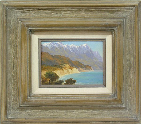 6001: Painting Coastal Alfred Mitchell