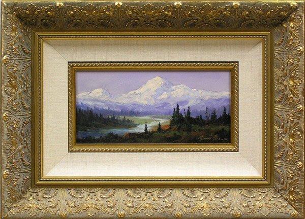 6002: Painting Mt. McKinley Heine Hartwig
