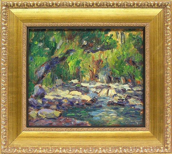 6008: Painting, Dominique, Californian