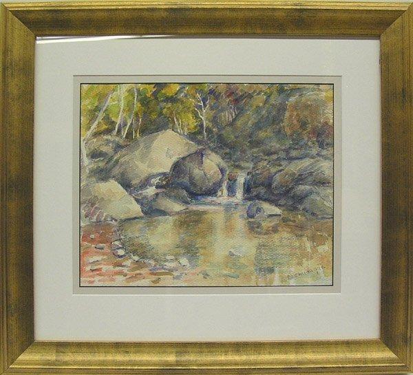 6009: Watercolor Matilija John Dominique