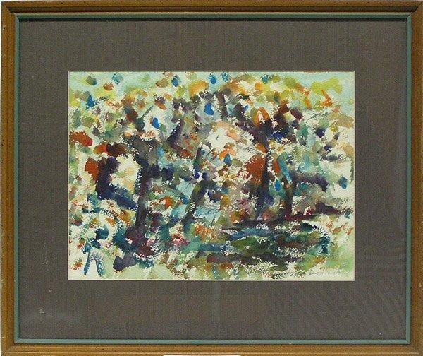 6010: Watercolor Autumn John A. Dominique