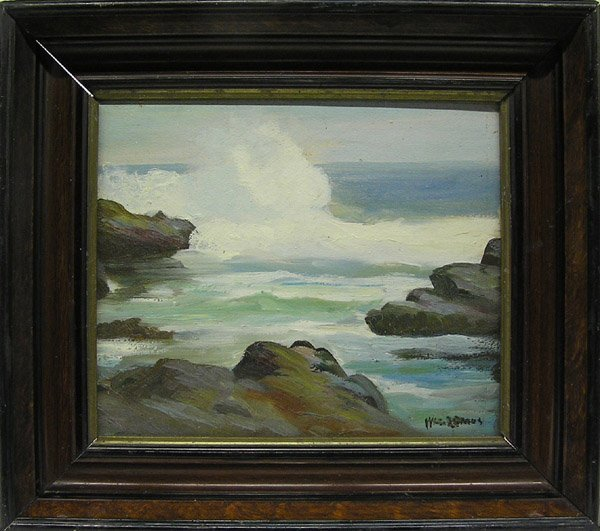 6011: Painting Seascape William Lemos