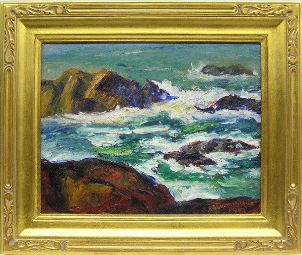 6012: Painting Carmel Seascape John Dominique