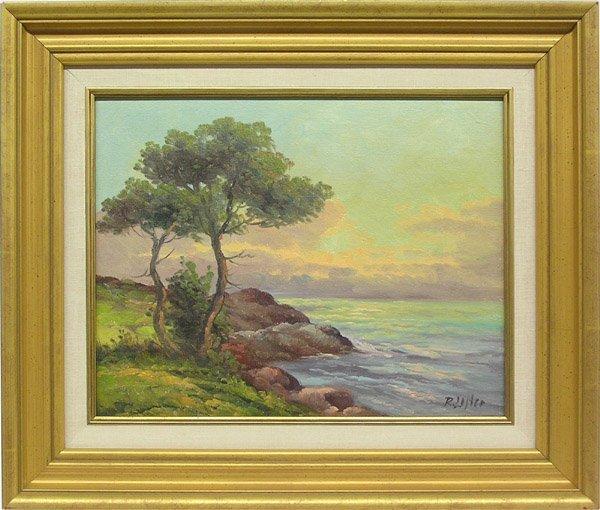6013: Painting Sunset Roberta Lester