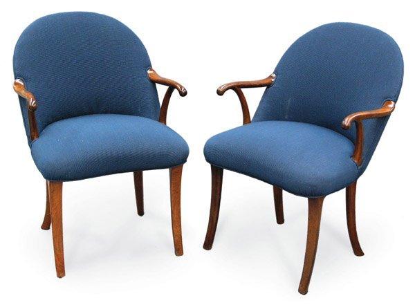6382: Frits Henningsen, Denmark armchairs